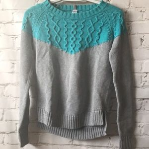 Ivivva Long Sleeve Cable Knitted Sweater